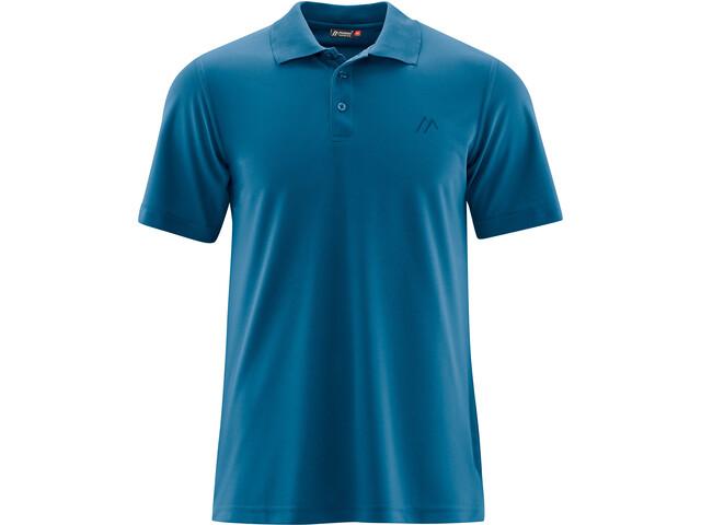 Maier Sports Ulrich Polo Shirt Men blue sapphire